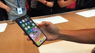 iPhone X ハンズオン