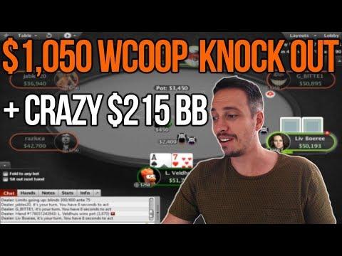 WCOOP $1,050 Turbo Progressive KO + crazy $215 Bounty Builder!