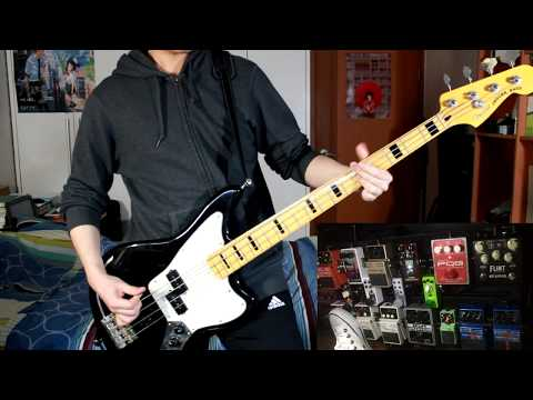 Royal Blood - Loose Change ( Bass + Effect Cover )