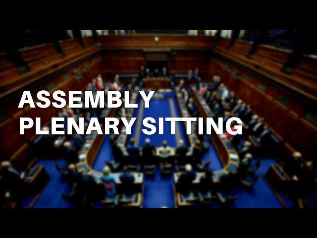 Assembly Plenary - 27 September 2021