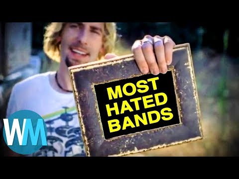 Top 10 MOST Hated Rock Bands