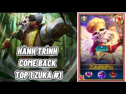 Hành Trình ComeBack TOP 1 Zuka Của ZukaNoPro Tại Mùa 16 #1