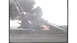 World War Two B17 On Fire on the runway at station 109 Podington Home of the 92nd Bomb Group