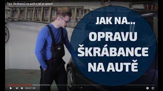 Jak si opravit drobný škrábanec na autě