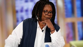 whoopi goldberg unleashes after co hosts compares the white struggle to the black struggle