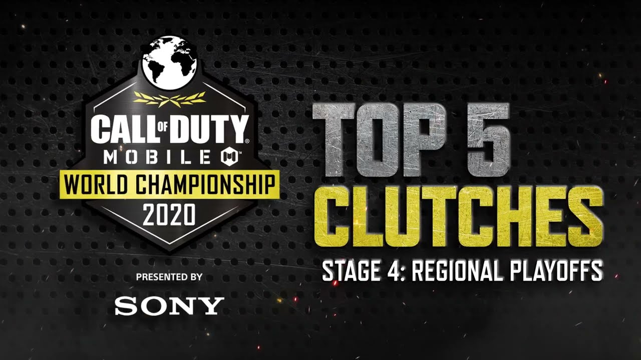 Call of Duty®: Mobile - World Championship 2020 Regional Playoffs   Top 5 Clutches