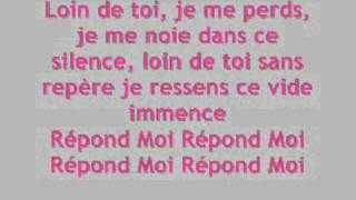 Répond moi Princess Sarah Paroles