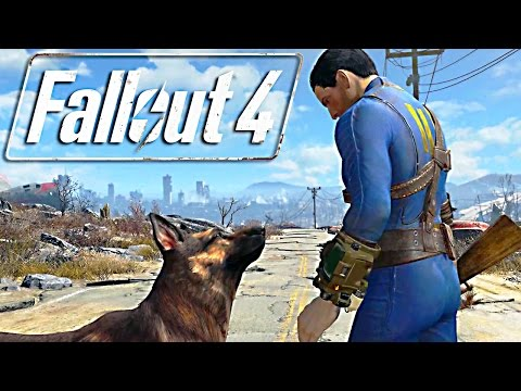 Fallout 4 GAMEPLAY 20 Minutes E3 2015