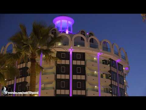 (4k) Nightlife in Playa de las Américas, Tenerife, Canary Islands