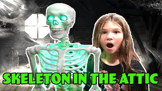 Skeleton In The Attic! Stalked By A Skeleton