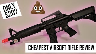 Video The worst $20 airsoft rifle you can find | UKARMS M16C download MP3, 3GP, MP4, WEBM, AVI, FLV Juni 2018