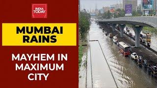 Mumbai Rains: 24 Dead After Walls Collapse In Chembur, Vikhroli Areas; Heavy Waterlogging On Streets