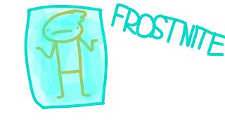 Geting frostbite in Fortnite