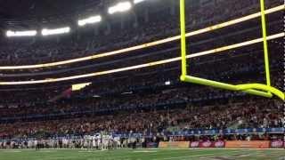 2013 Cotton Bowl - 4th quarter Aggie War Hymn