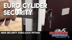 High security euro lock fitting