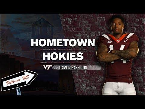 Hometown Hokies: Damon Hazelton
