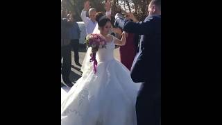 Невеста приветствует гостей / Традиционная армянская свадьба в Ереване 2018 /Армянская музыка