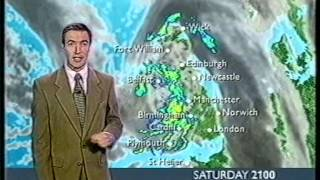 BBC Weather 25th November 2000