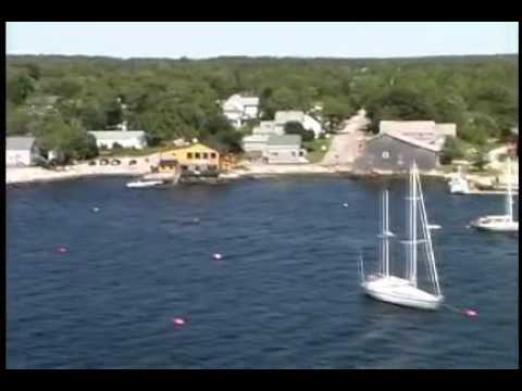 Aerial Footage of Shelburne County