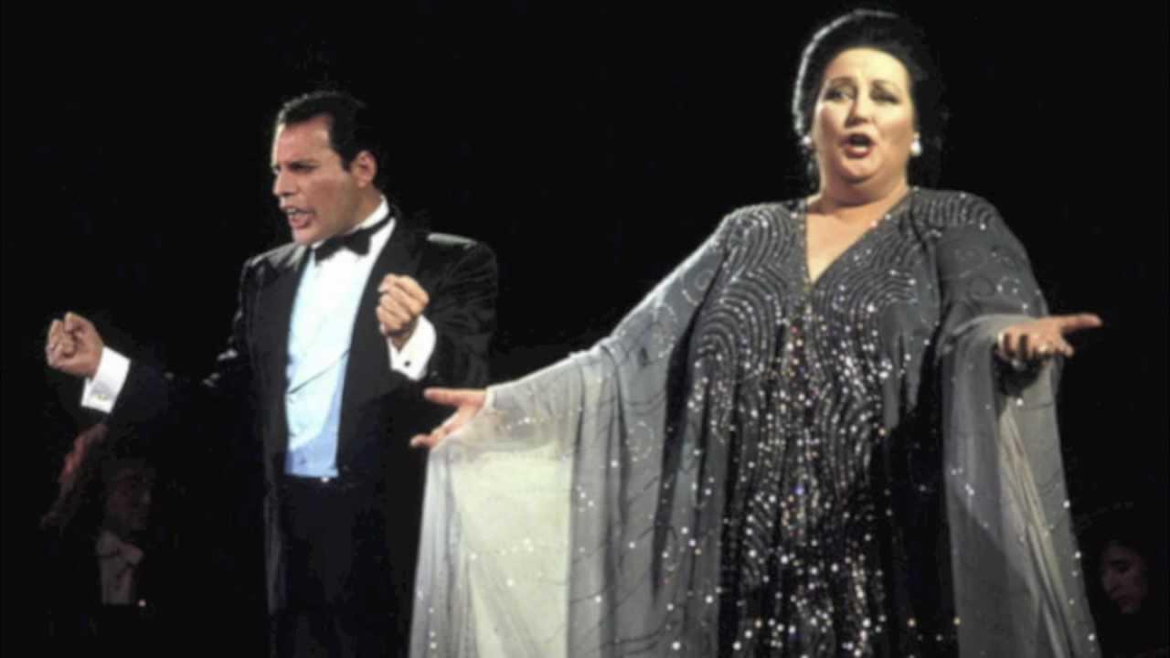 Resultado de imagen para freddie mercury and Montserrat Caballé