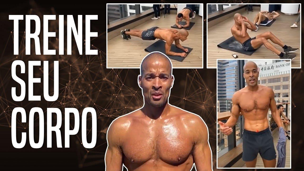45 minutos de exercício guiado   Como treinar seu corpo/mente   David Goggins Legendado em português