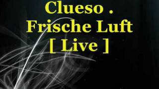 Clueso - Frische Luft [ live ]