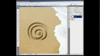 Realistic Sand Writing & Drawing in Photoshop in Less than 2 Minutes