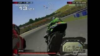 MotoGP 4 PlayStation 2 Gameplay - Yellow
