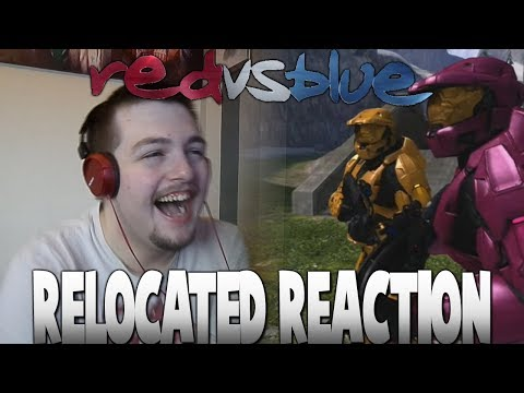 Red vs. Blue Relocated Reaction