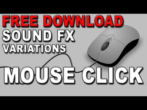 Free Mouse Click Sound Effects | MP3 Download | FStudios