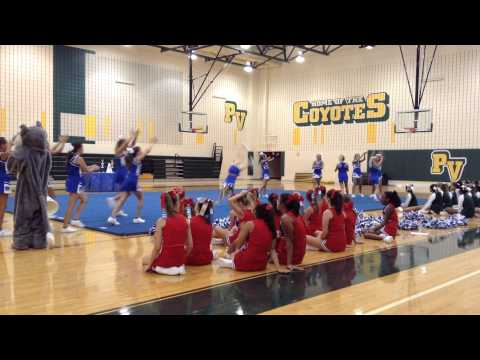 Wayside Middle School Cheer Summer Camp 2014