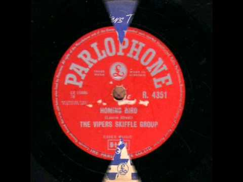 THE VIPERS SKIFFLE GROUP  HOMING BIRD  78RPM