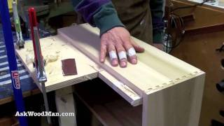 How To Make Plywood Boxes • 57 Of 64 • Woodworking Project For Kitchen Cabinets, Desks, Etc...