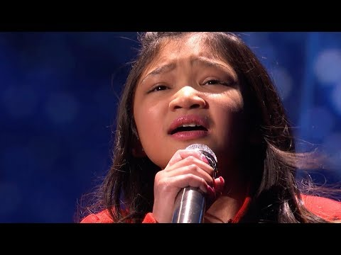 9 Year Old Angelica Hale Sings Her Heart Out in the Semi-Finals | Americas Got Talent 2017