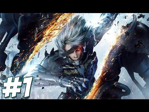 เเม่จะฟันให้ยับเลย!!! | [Metal Gear Rising : Vengeance] //pt.1