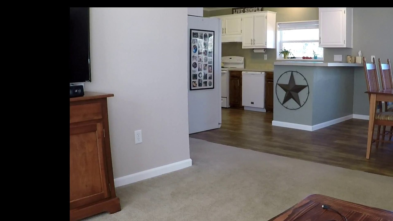 Install And Review Of Trafficmaster Allure Vinyl Flooring Youtube