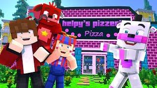 Minecraft FNAF 6 Pizzeria Simulator - HELPYS NEW PIZZERIA?! (Minecraft Roleplay)