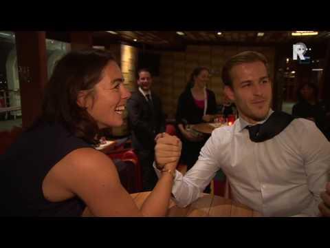 Boksster Nouchka Fontijn is ijzersterk en dat weet hockeyer Jeroen Hertzberger nu ook