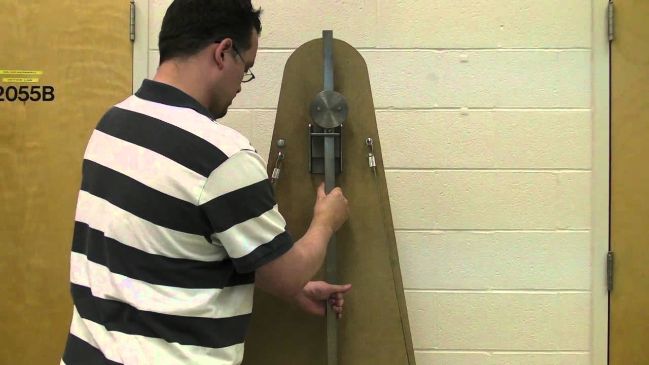 kater's pendulum Katers pendulum setup 0:00 duration 0:00 iu a18-3 do not drop protect the knife edges they are sharp and delicate katers pendulum is a classic apparatus for.