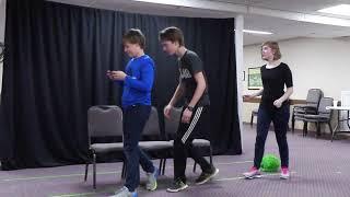 Drama Retreat 2018 - Caitlyn, Matthew, Andrew