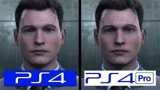 Detroit Become Human | PS4 vs PS4 Pro | Graphics Comparison | Comparativa