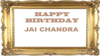 Jai Chandra   Birthday Postcards & Postales - Happy Birthday