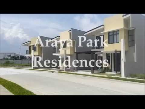 House and Lot For Sale in Sta.rosa Laguna near SM│ARAYA PARK RESIDENCES Redwood model