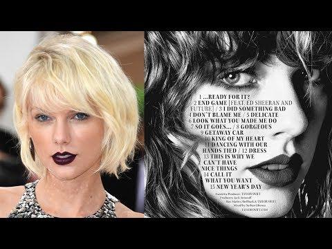Most SHOCKING Taylor Swift Reputation Track List Fan Theories