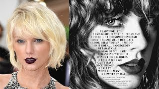 Most SHOCKING Taylor Swift Reputation Track List Fan Theories