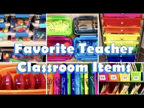 FAVORITE TEACHER CLASSROOM ITEMS Target Dollar Tree Michaels & More VLOG