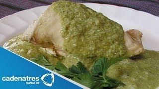 Receta para preparar mole verde con pollo. Receta de mole / Comida mexicana
