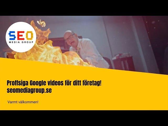 Sökmotoroptimering: Proffsiga Google videos för ditt företag!