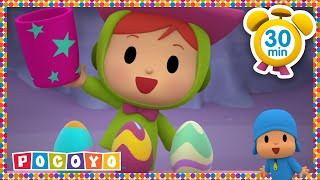 🐰 POCOYO in ENGLISH - Pocoyo's Easter Picnic [30 min] | Full Episodes, VIDEOS and CARTOONS FOR KIDS