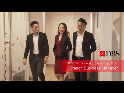 Life At DBS: Branch Business Manager, Consumer Banking Group